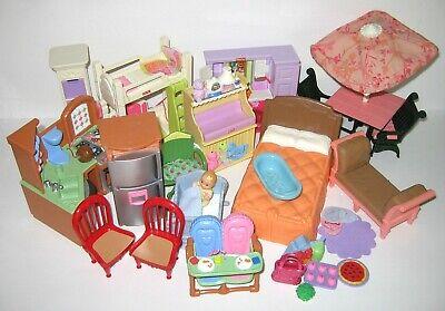 ***** Fisher Price Loving Family Dollhouse Lot *****