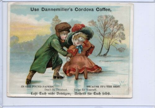 lot of 3 really nice coffee related Victorian trade cards including Toledo, Oh