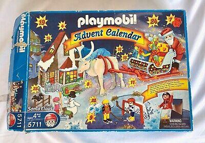 Playmobil Advent Calendar 5711 Santa Claus Christmas Edition 2002 New Open Box