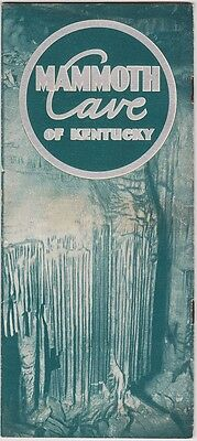 1940's Mammoth Cave Of Kentucky Promotional Brochure