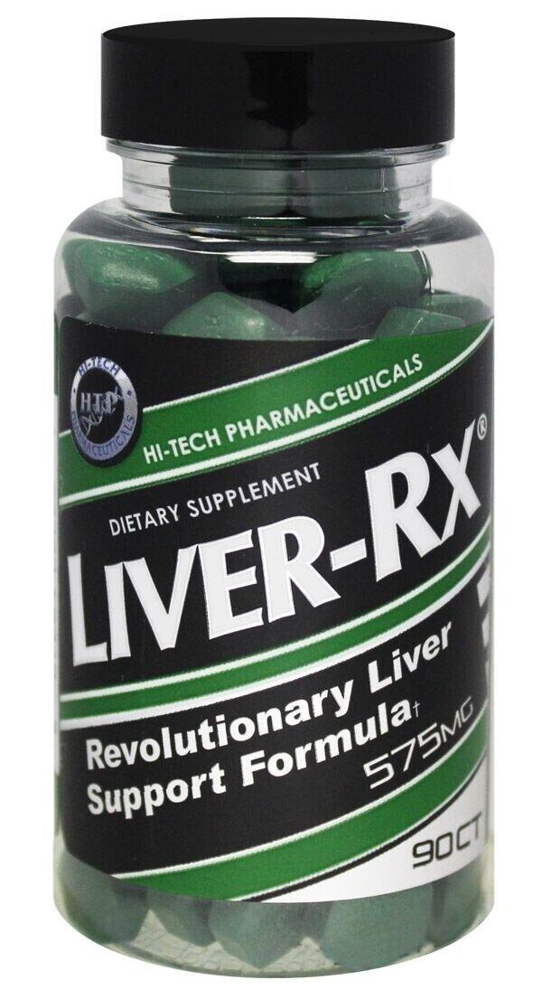 Hi-Tech Pharmaceuticals - LIVER RX 90ct  Liver Support FRESH 2024