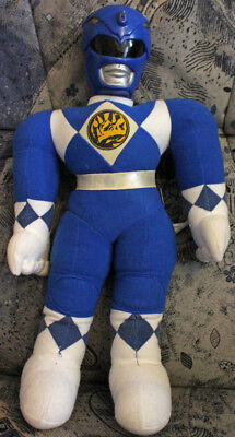 Vintage Power Ranger Mighty Morphin-1993 Saban Entertainment Inc.- blau   ()