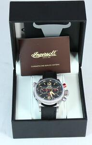 Ingersoll Armbanduhr für Herren Automatik Bison No. 70 IN 3225 BK