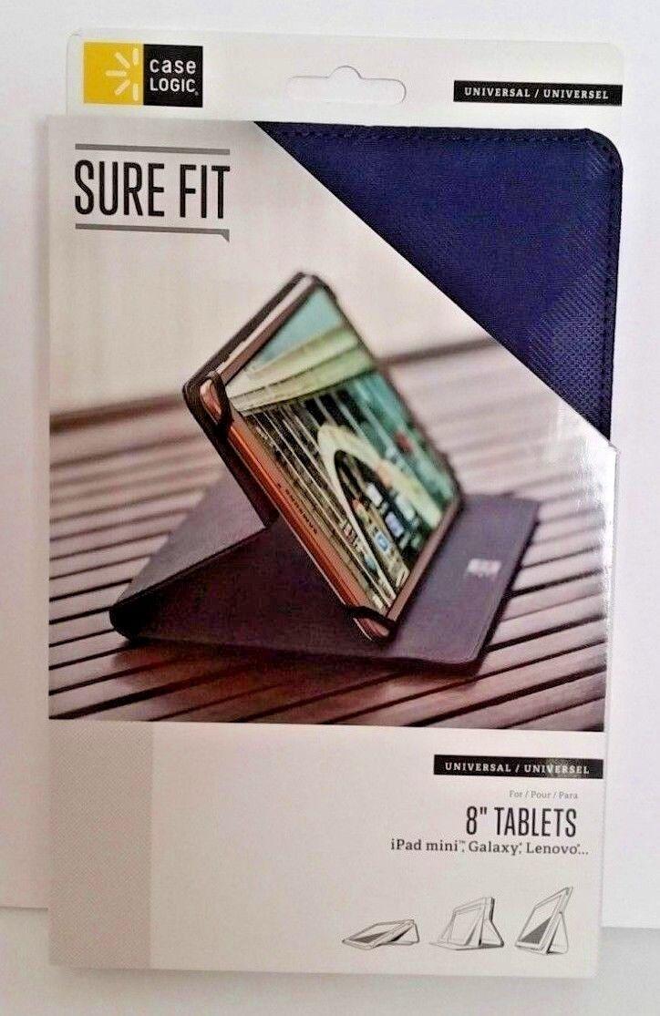 "BRAND NEW Case Logic SureFit Universal Tablet Folio 8"", Indi"