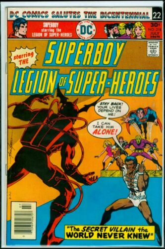 DC Comics SUPERBOY And The LEGION Of SUPER-HEROES #218 FN 6.0