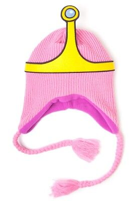 Adventure Time Beanie - Princess Bubblegum Crown | Official Hat Merchandise New