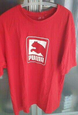 PUMA Size XL Men's Red T.Shirt.....Used