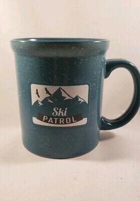 Ski Patrol, Winter Coffee Mug / Cup Large 16oz Mountain, Snow, Birds, - Winter Mugs