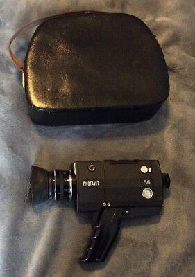 Photavit S6 S 6 Kamera Super 8 TTL - Autoreflex Zoom Lens 1.7 8-48mm