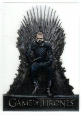 GAME OF THRONES SEASON 8 ACETATE INSERT TRADING CARD T20 GREY WORM
