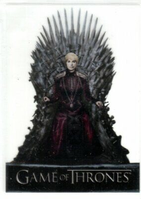 GAME OF THRONES SEASON 8 ACETATE INSERT TRADING CARD T8 CERSEI LANNISTER