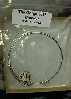 Dave matthews band limited edition Gorge Bracelet SOLD OUT.  Silver charm