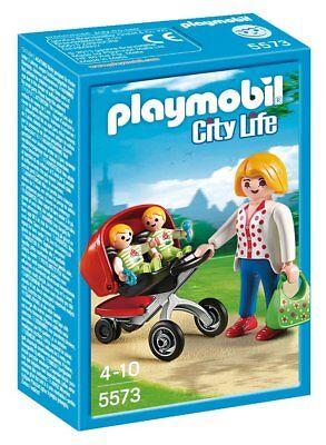 Playmobil City Life 5573 - Mama avec panier. De 4 à 10 ans