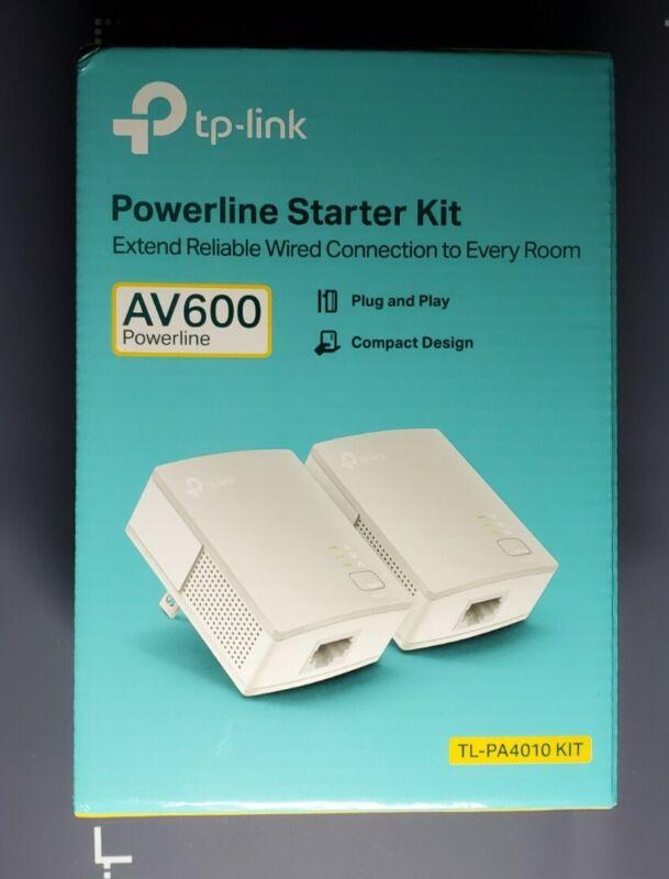 2- TP-Link TL-PA4010 Nano PowerLine Adapter AV500 White 500mbps