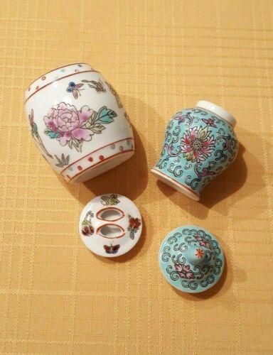 Miniature Chinese Porcelain Ginger Jars