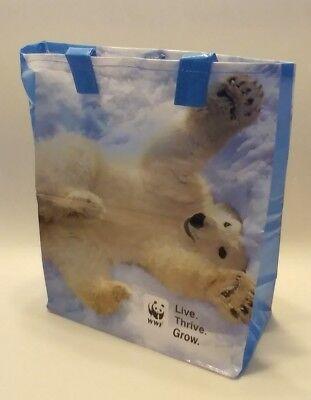 Polar Bear Cub WWF World Wildlife Fund Gift Bag Tote - NEW (1 BAG)
