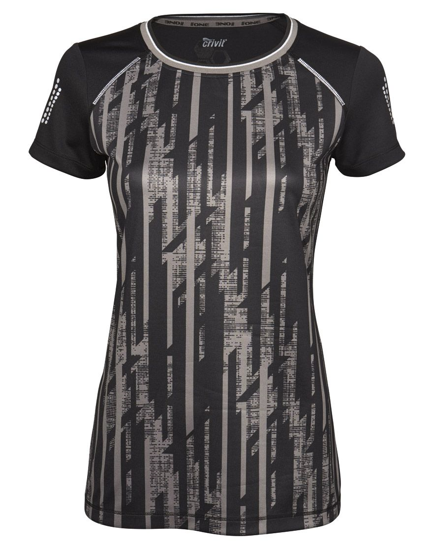 TOP Damen Funktionsshirt Shirt fitness kurzarm  Ideal für Training und Workout