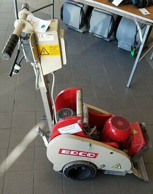 Edco Self Propelled Ts14 Tile Shark Floor Scraper Carpet Stripper Machine