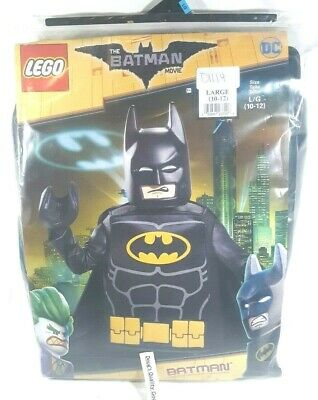 Lego Batman Costume Child Small Large Youth Boys Batman Movie DC Comics New - Baby Lego Costume