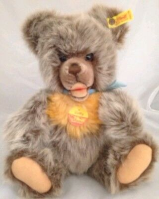 Steiff Mohair Zotty Teddy Bear 302/30 Button In The Ear MINT Working Growler