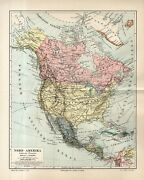 Antique Map America