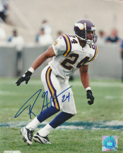 Minnesota Vikings All Pro Robert Griffith autographed 8x10 action  photo