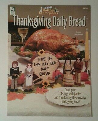 Thanksgiving Daily Bread Pilgrims Turkey Easy Holiday Centerpieces Napkin Holder