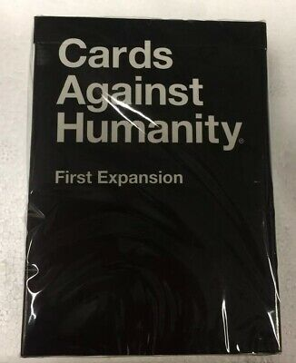 NEW Cards Against Humanity First Expansion Pack - Sealed