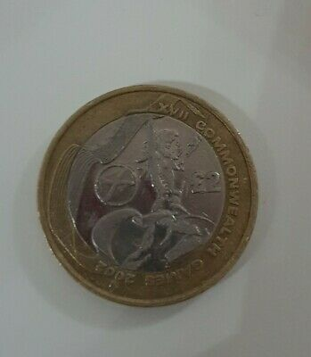 2 Pound Commonwealth Games Scotland Coin 2002