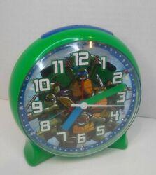 Teenage Mutant Ninja Turtles ALARM Clock 2014 Viacom International Light Up