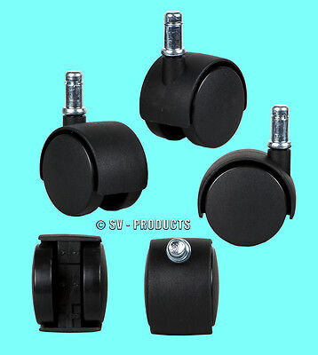 Office Chair Parts Replacement Casters 2 Swivel - 131