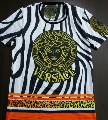 VERSACE MEN'S SHORT SLEEVE T-SHIRT SIZE S