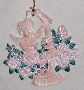 Pink-4-1-2-Cupid-Angel-in-Basket-of-Flowers-Ornament-Figurine
