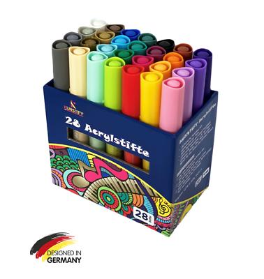 Acrylstifte Permanent Marker Filzstift 2set Scrapbook Acrylfarbe Marker Stifte