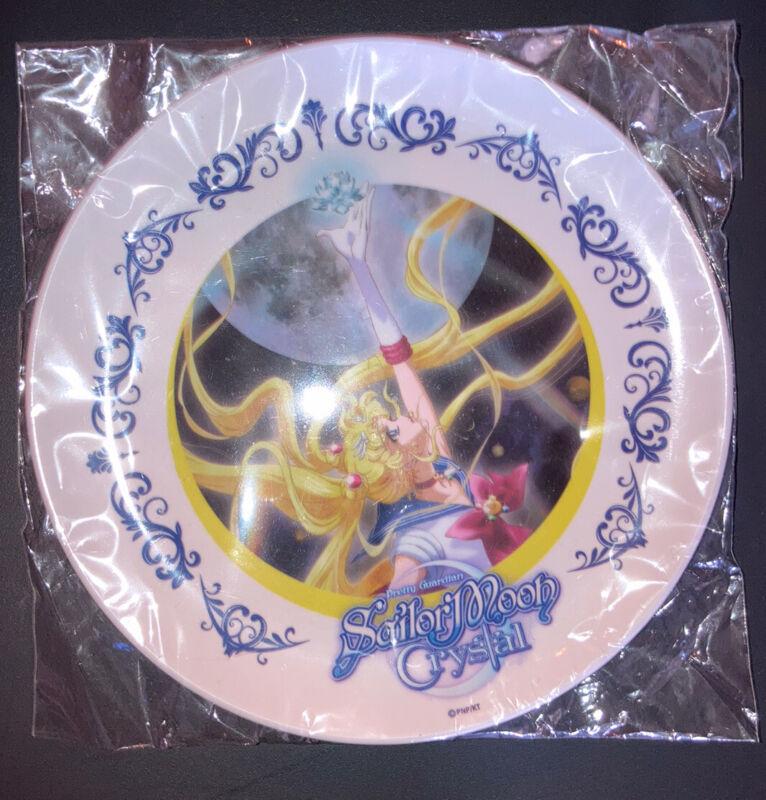 Sailor Moon Crystal Plate Bandai New