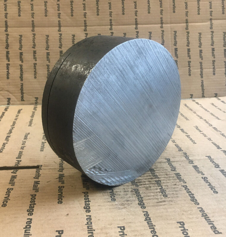 "7"" Round Steel Stock Bar Lathe Machining Blacksmithing Puck"
