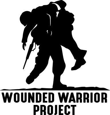 Wounded Warrior Decal Window WWP War Support Awareness Bumper Sticker Car Decor  - Window Decoration