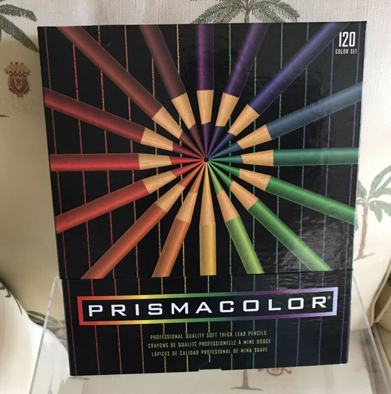 Berol PRISMACOLOR Thick Lead Art Pencils-Crayons - Set of 120 Colors