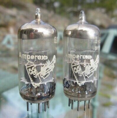 Matched Pairs Amperex Bugle Boy 6DJ8 Tubes - 1962 Holland codes for sale  Shipping to South Africa
