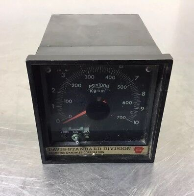 Gentran Gt-408-10m Pressure Indicator 0-10000 Psi. 5e