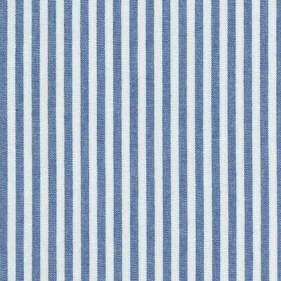 Textiles français 100% Baumwolle Stoff | Streifen - Marineblau und weiβ (Gewebt)