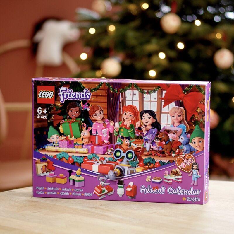 LEGO Friends Advent Calendar 41420 Building Block Kit 236pcs Brand New 2020