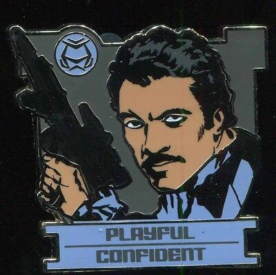 Star Wars Zodiac Mystery Leo Lando Calrissian Chaser LE 500 Disney Pin 96671