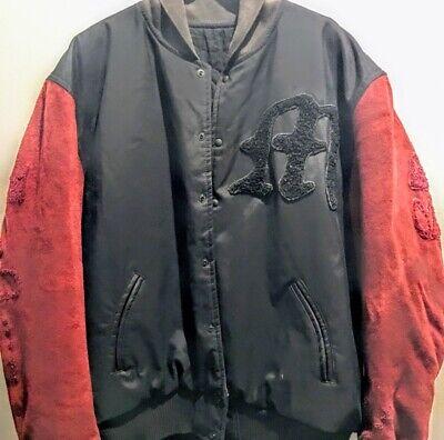 Maharishi Embroidered Bomber Jacket Size L