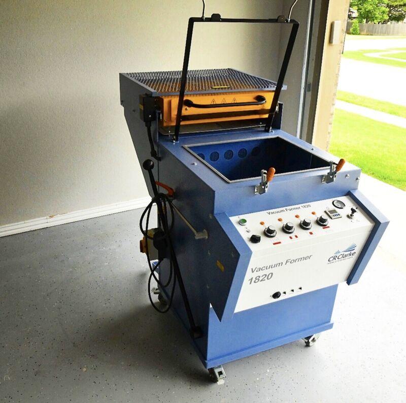 1820 CR CLARK Vacuum Former