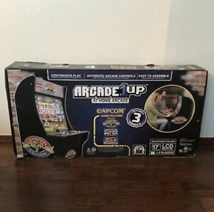 ARCADE1UP STREET FIGHTER CHAMPIONS EDITION 3in 1