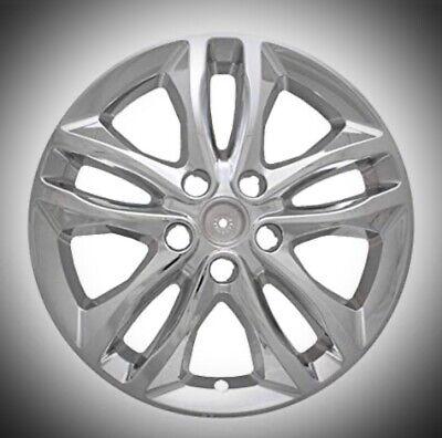 "2016-2018 Chevrolet Malibu LT or Hybrid 17"" Chrome Wheel Skins 7571P-C 4 Pcs Set"