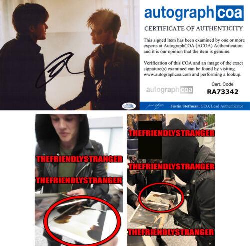 """CURRAN WALTERS signed """"TITANS"""" 8X10 PHOTO K - EXACT PROOF - ROBIN Jason ACOA COA"""