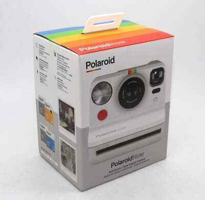 Polaroid Now i‑Type White Instant Camera + 2-lens system - Brand new and sealed