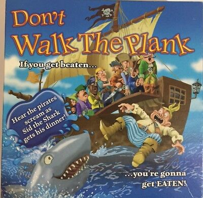 Don't Walk The Plank Board Game - Crown And Andrews 2006 Retro Game